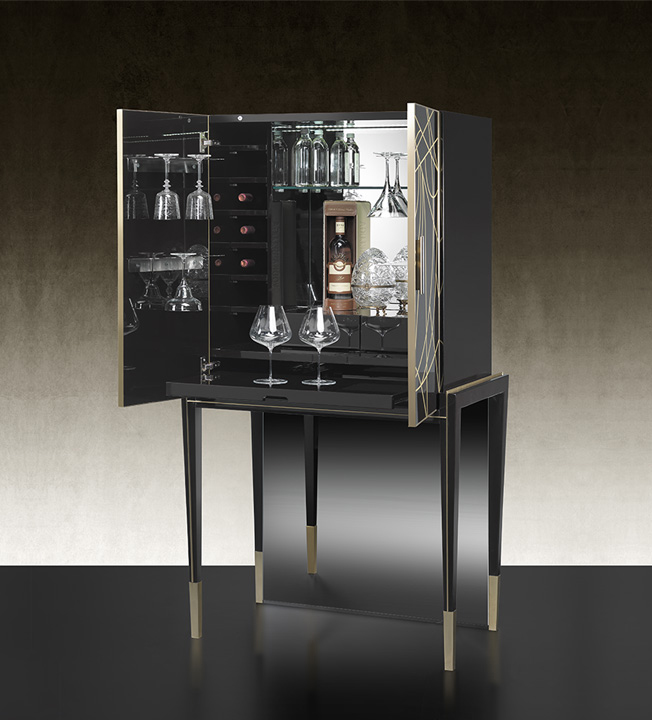 Belle Epoque Bar Cabinet