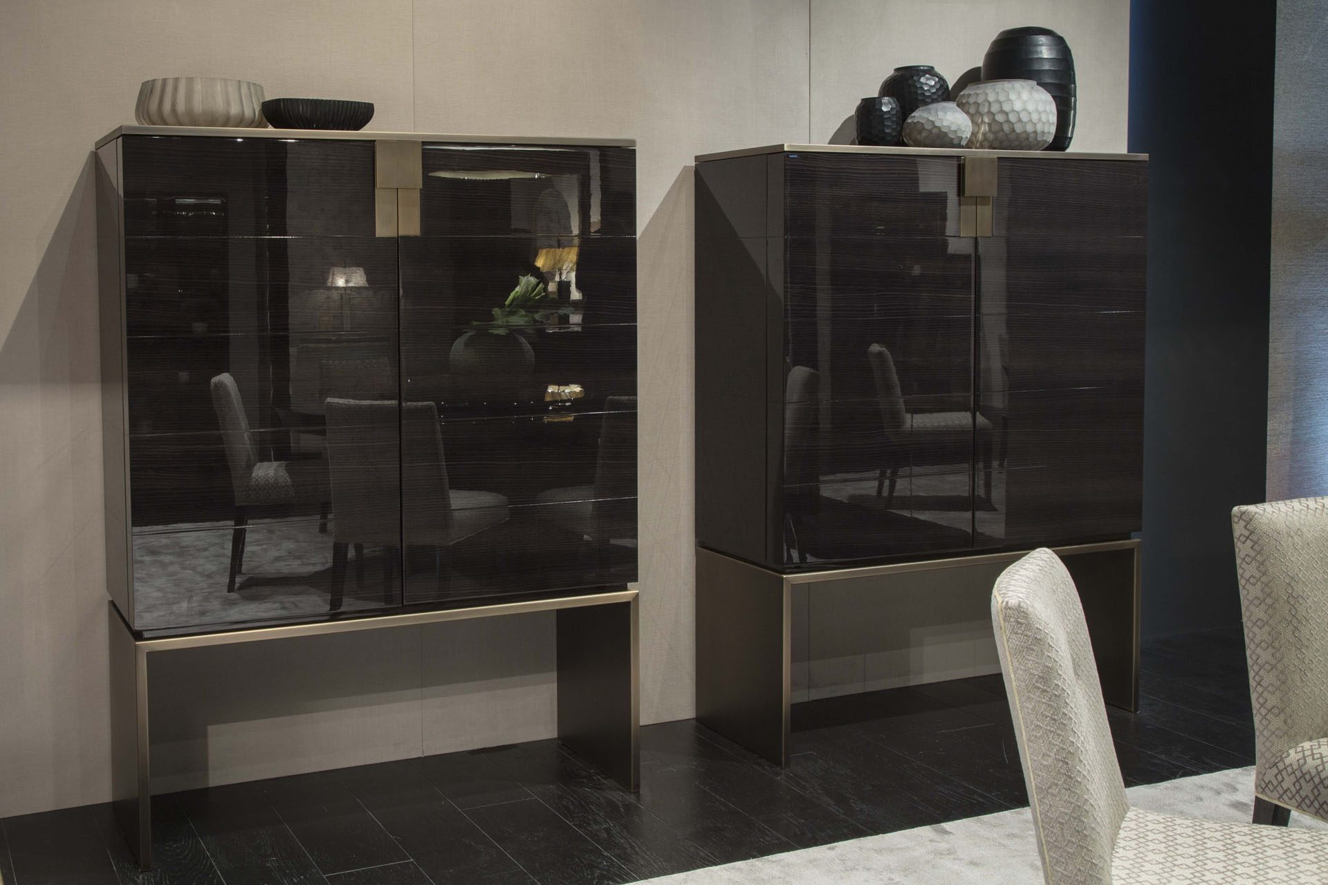 Black and More Cabinet