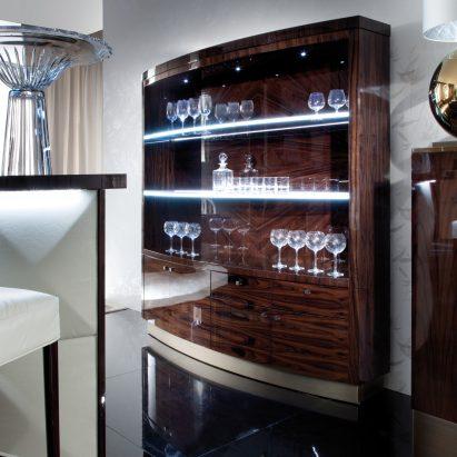 Coliseum Bar Cabinet