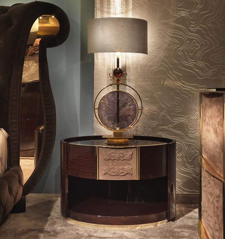 Couture Bedside Table