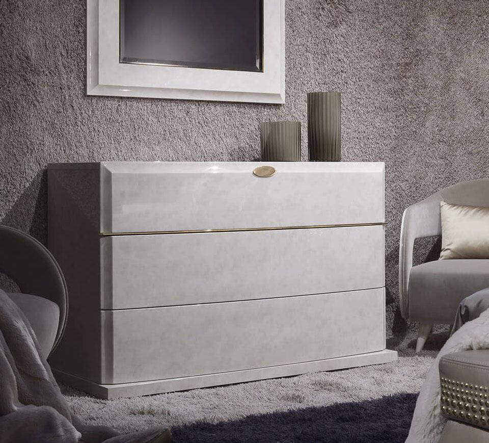 Genesis White Dresser