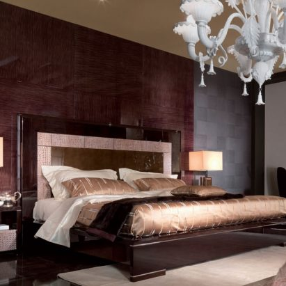 Genesis Leather Bed