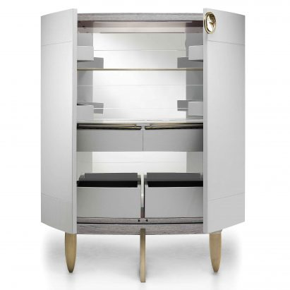 Fashion Affair Leather Cabinet