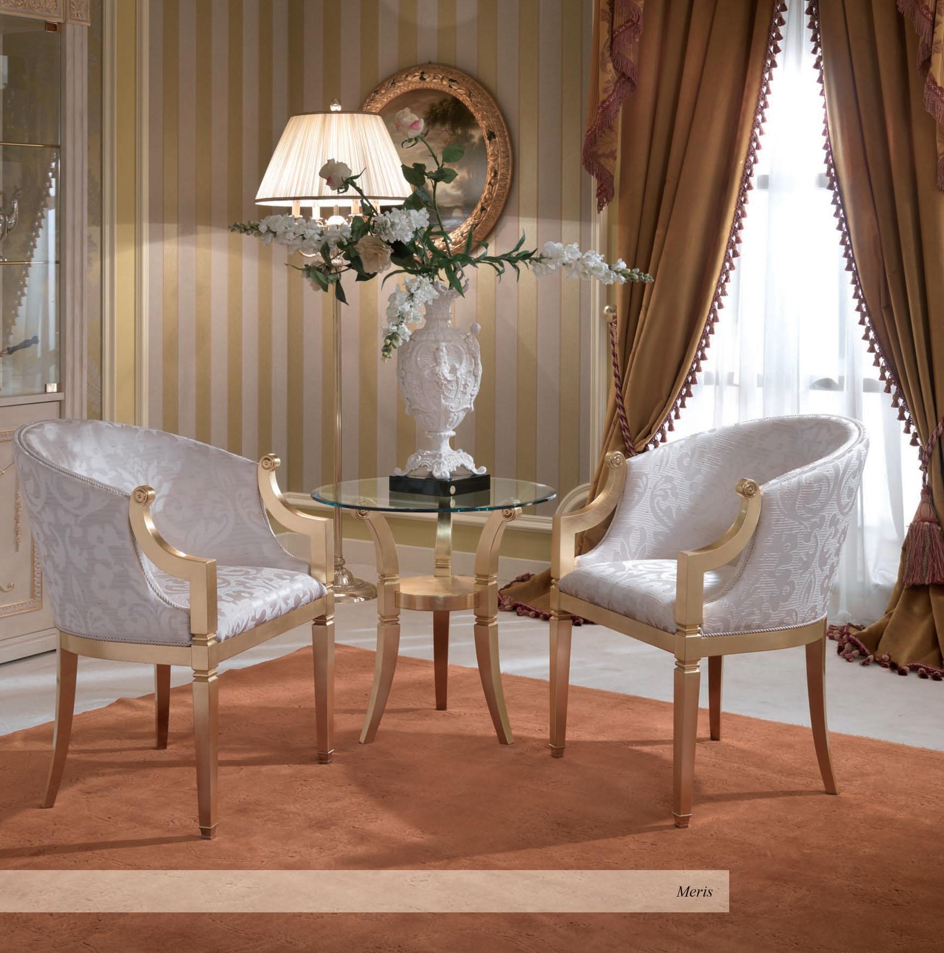 Meris Round Occasional Chairs
