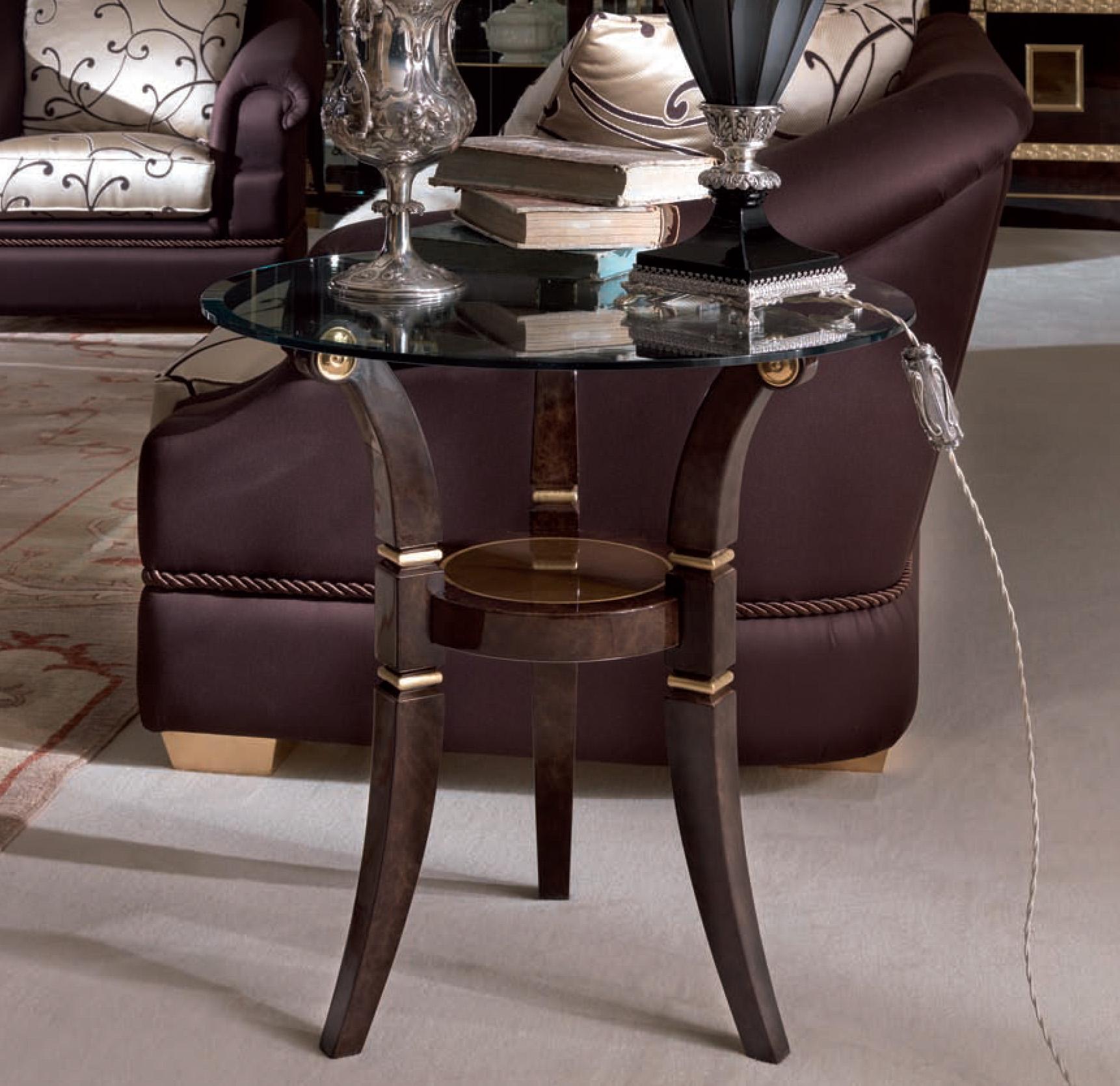 Meris Round Side Table
