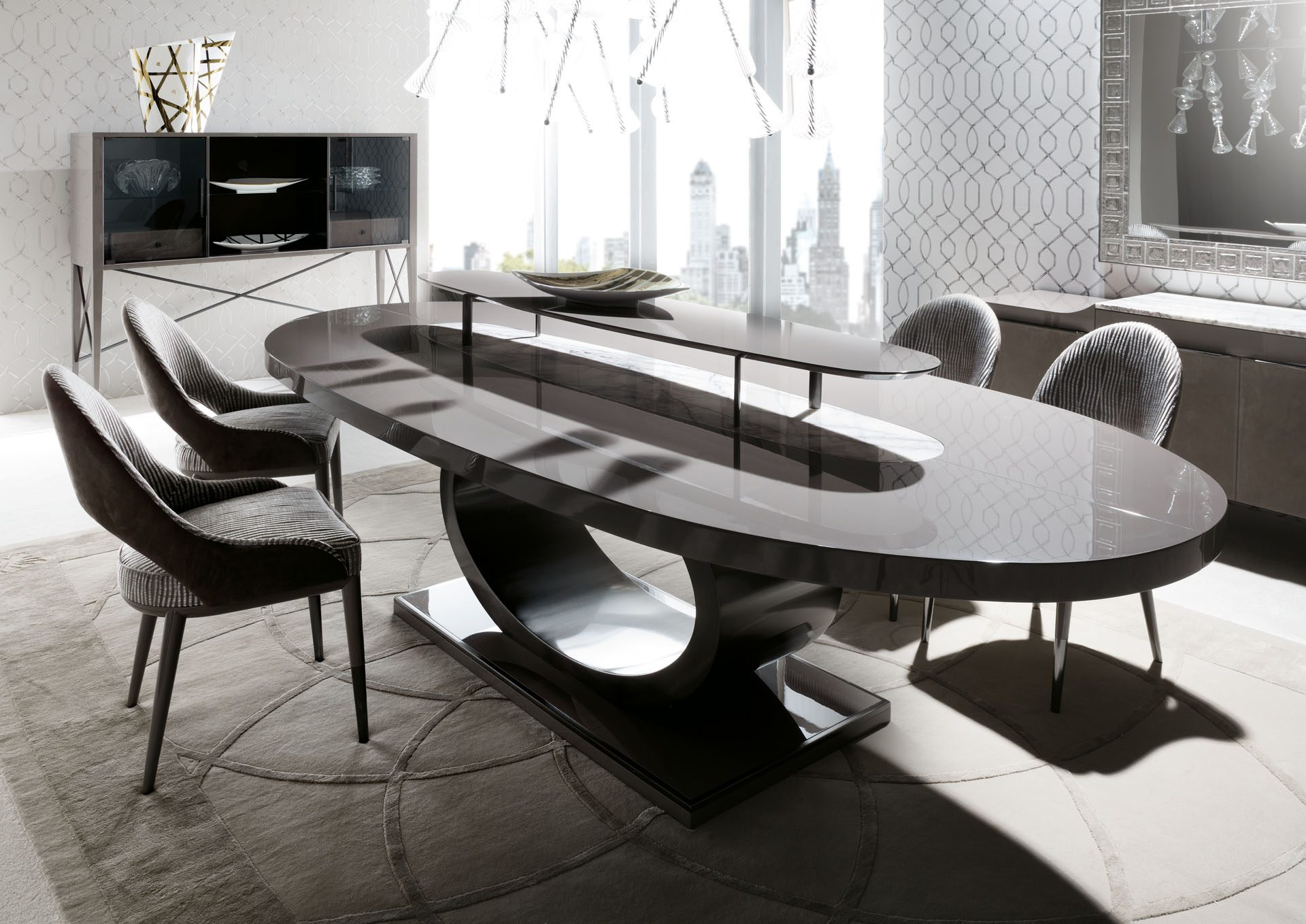 Vision Oval Dining Table