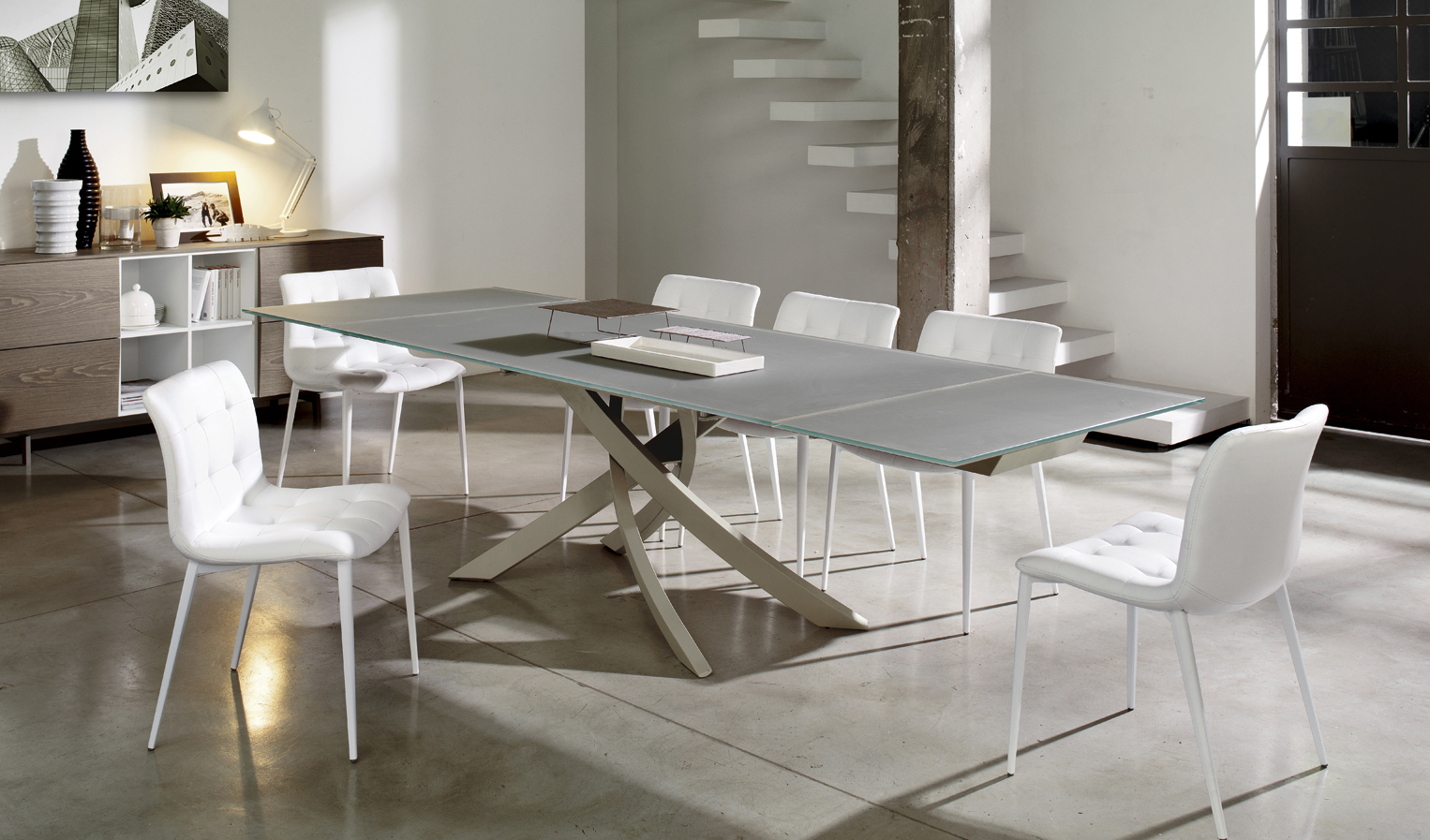 Artistic Rectangular Dining Table