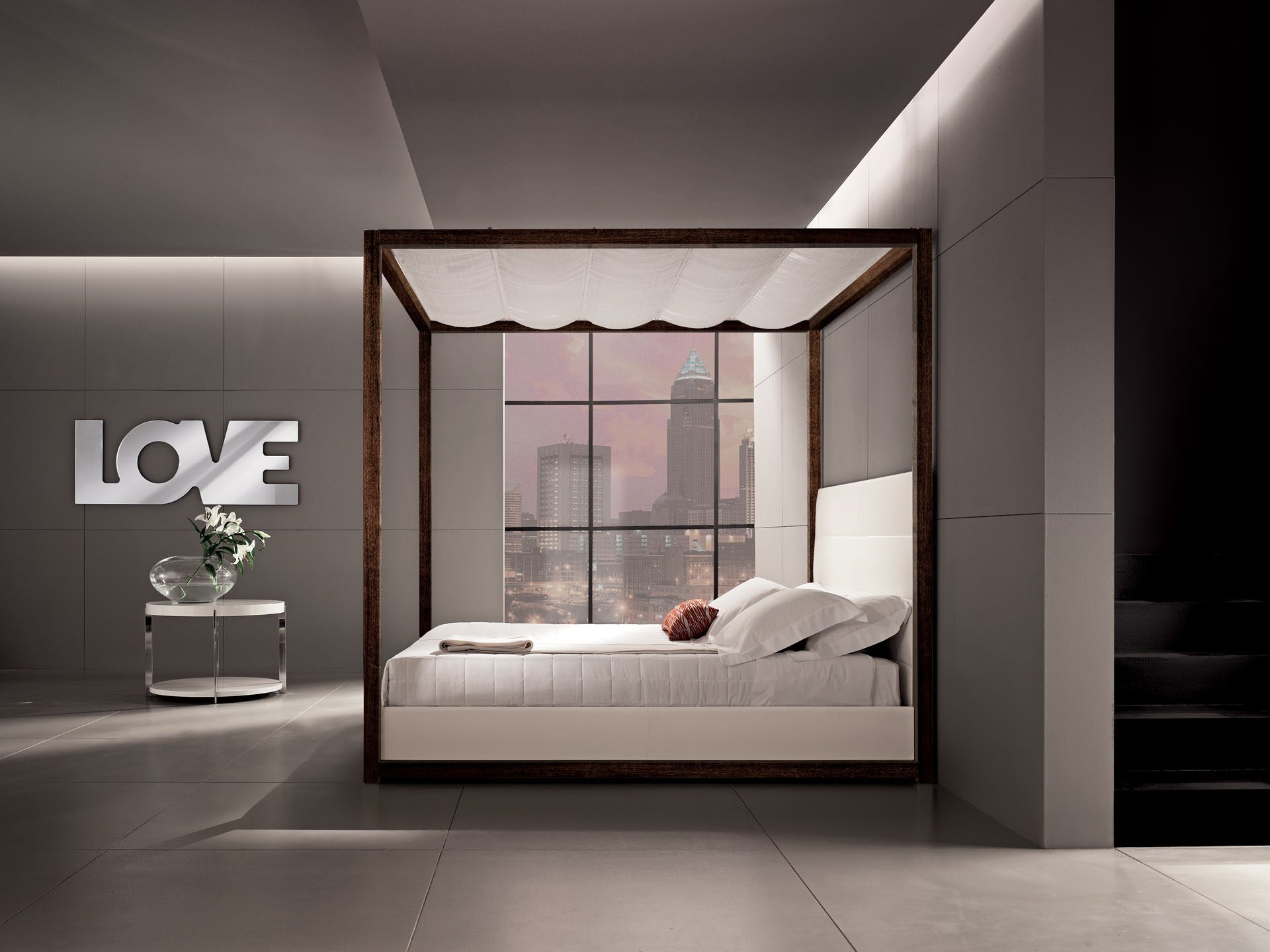 Love Letters Poster Bed