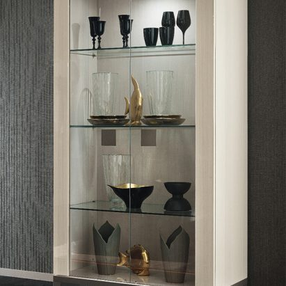 Monte Blanca Display Cabinet