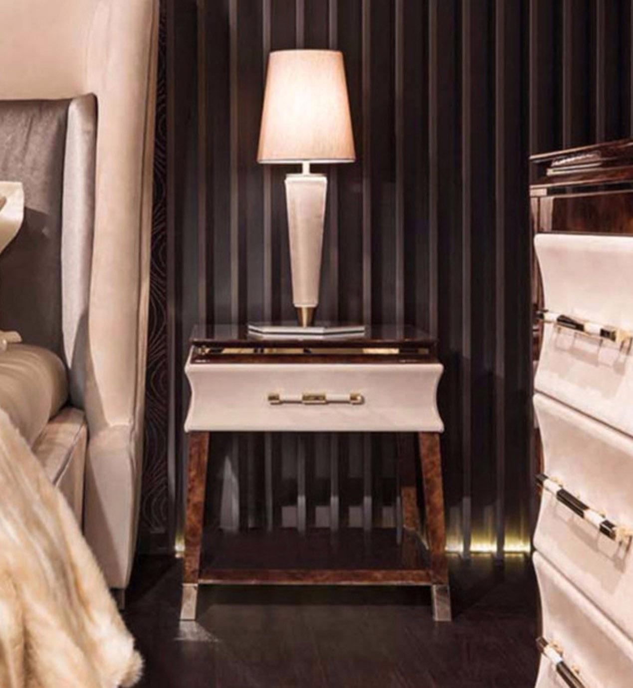 Noire Bedside Table