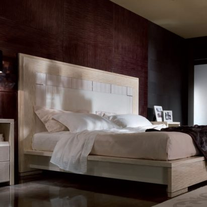 Genesis White Bed