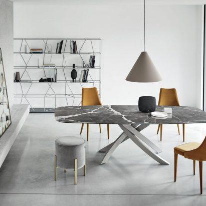 Artistic Rectangular Dining Table