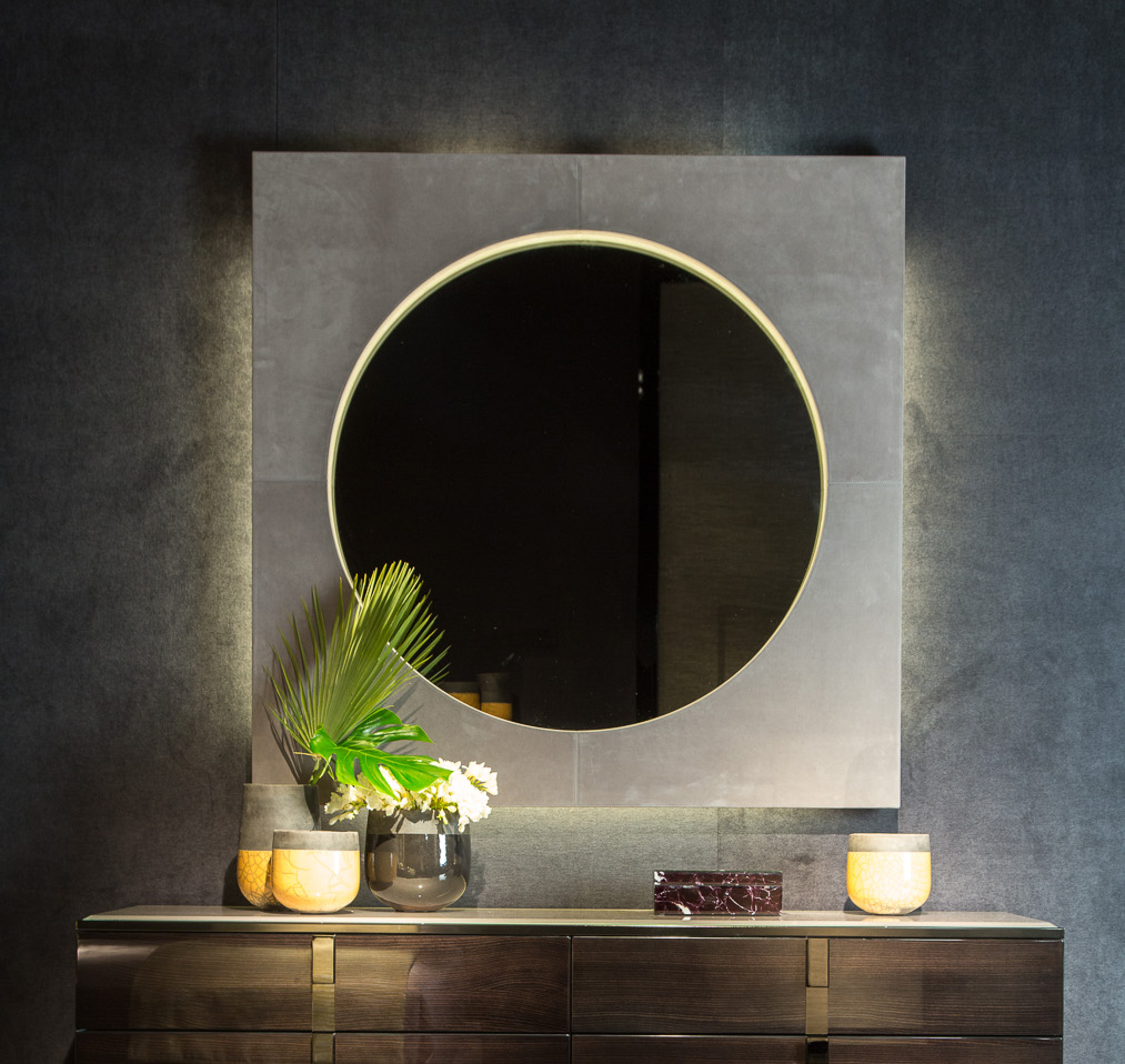 Black and More Wall Mirror