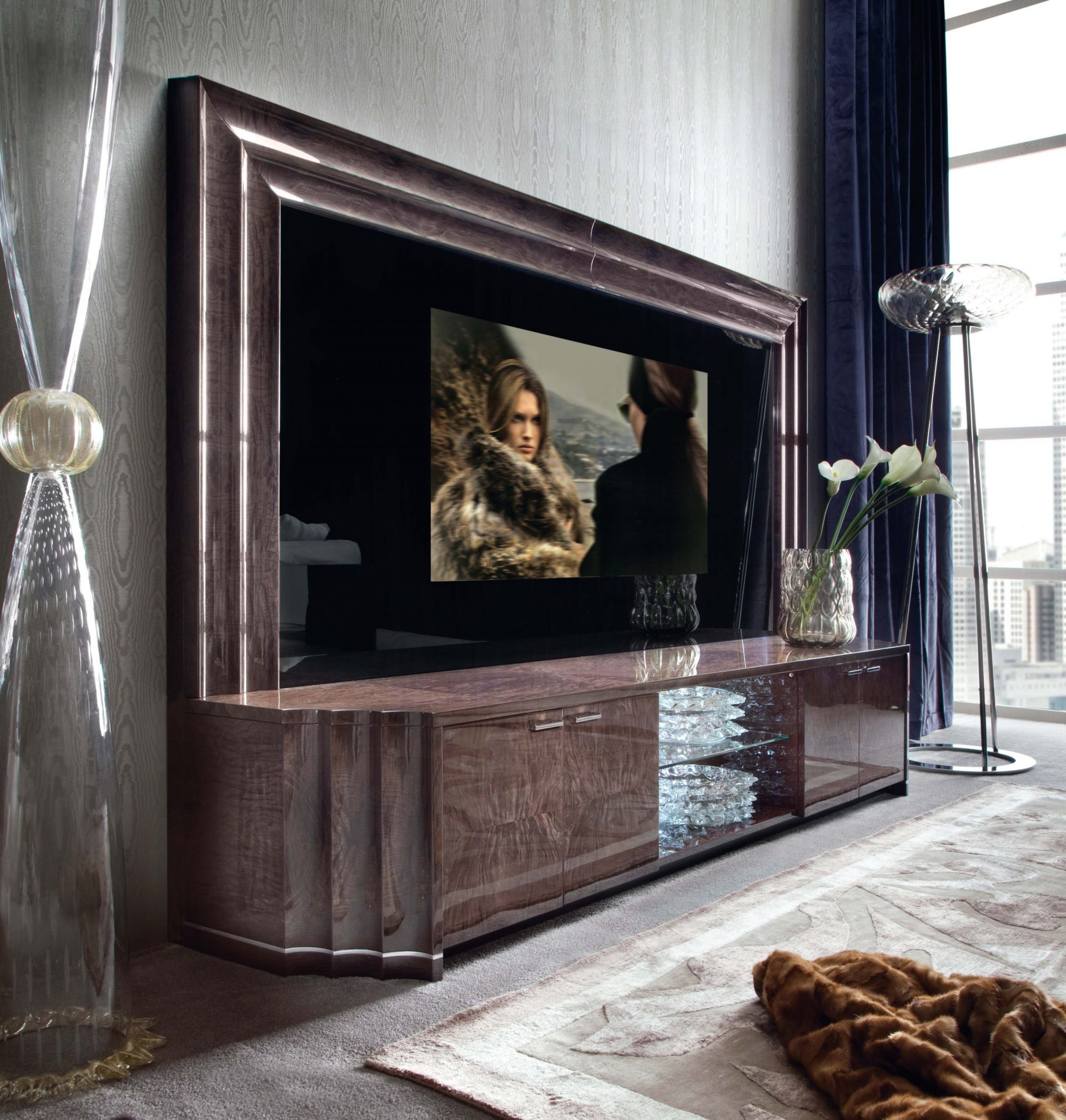 Absolute TV Wall Unit