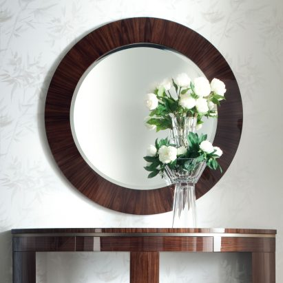 Coliseum Round Wall Mirror