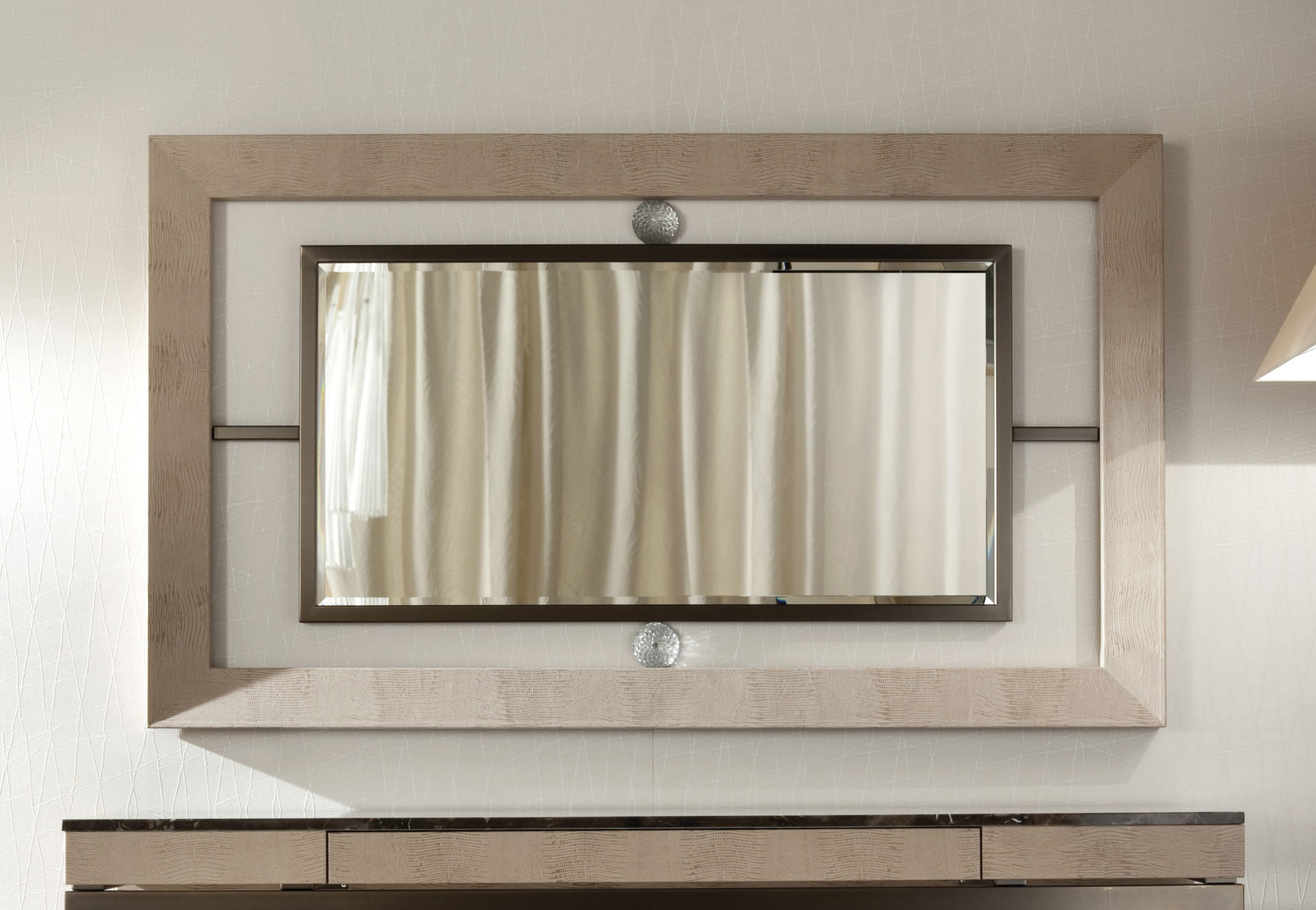 Lifetime Wall Mirror with Murano Glass