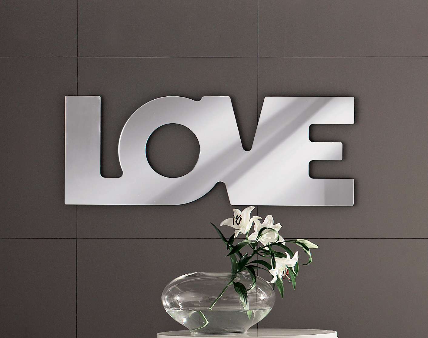 Love Letters Wall Mirror