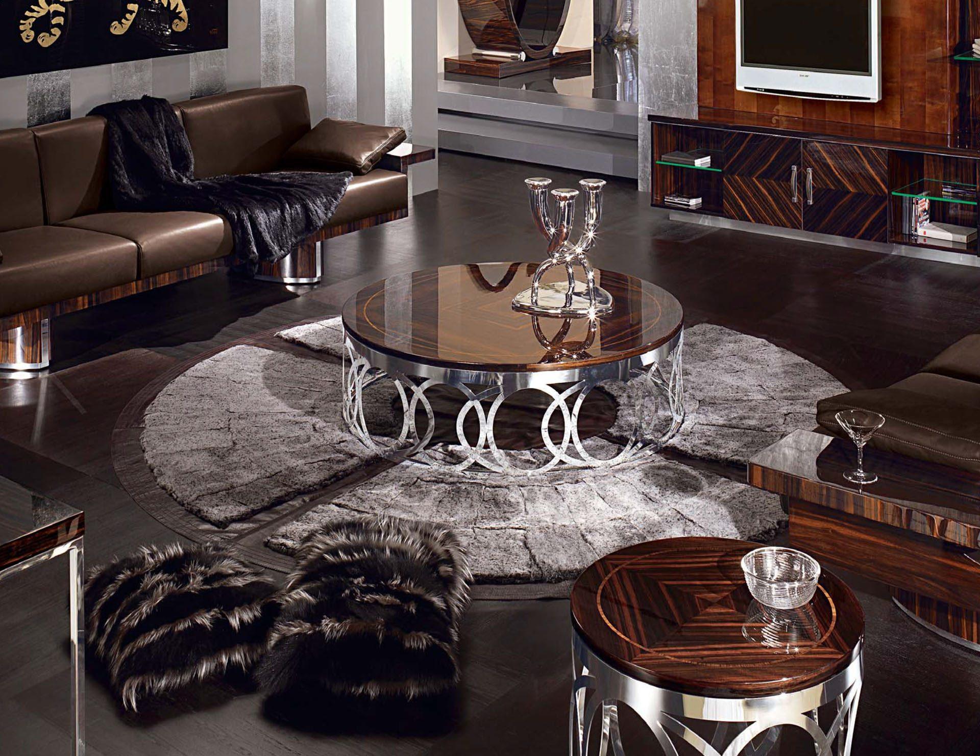 Luna Metal Coffee Table