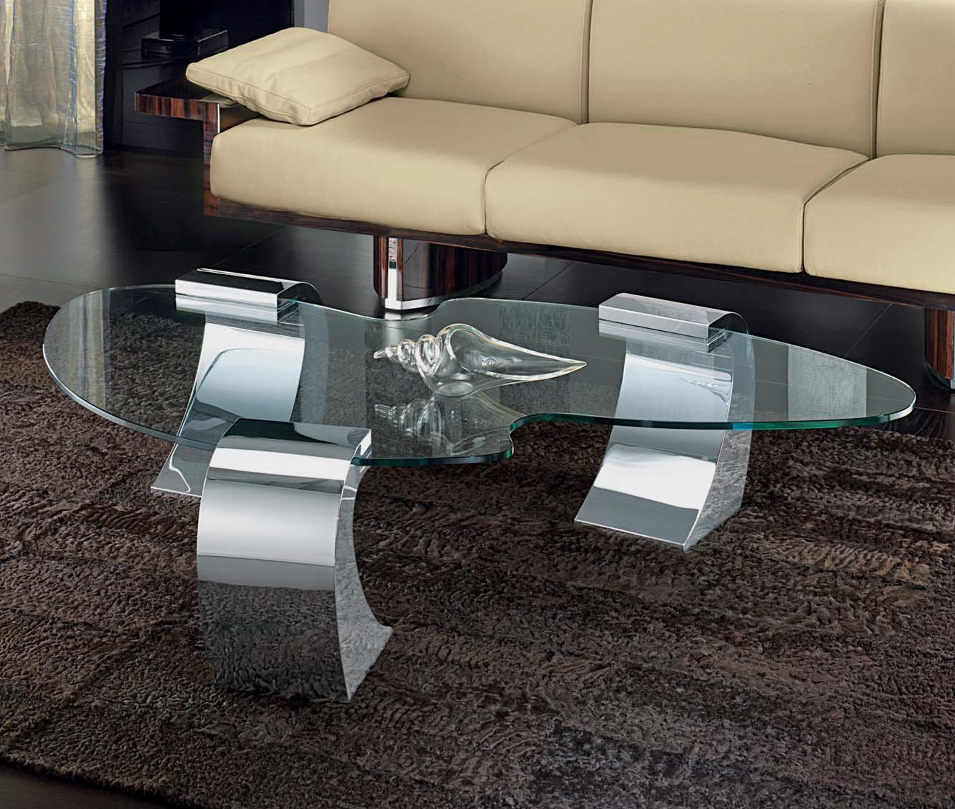 Luna Glass Coffee Table