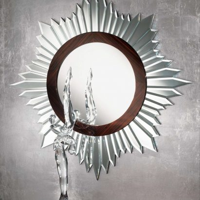 Luna Sunburst Wall Mirror