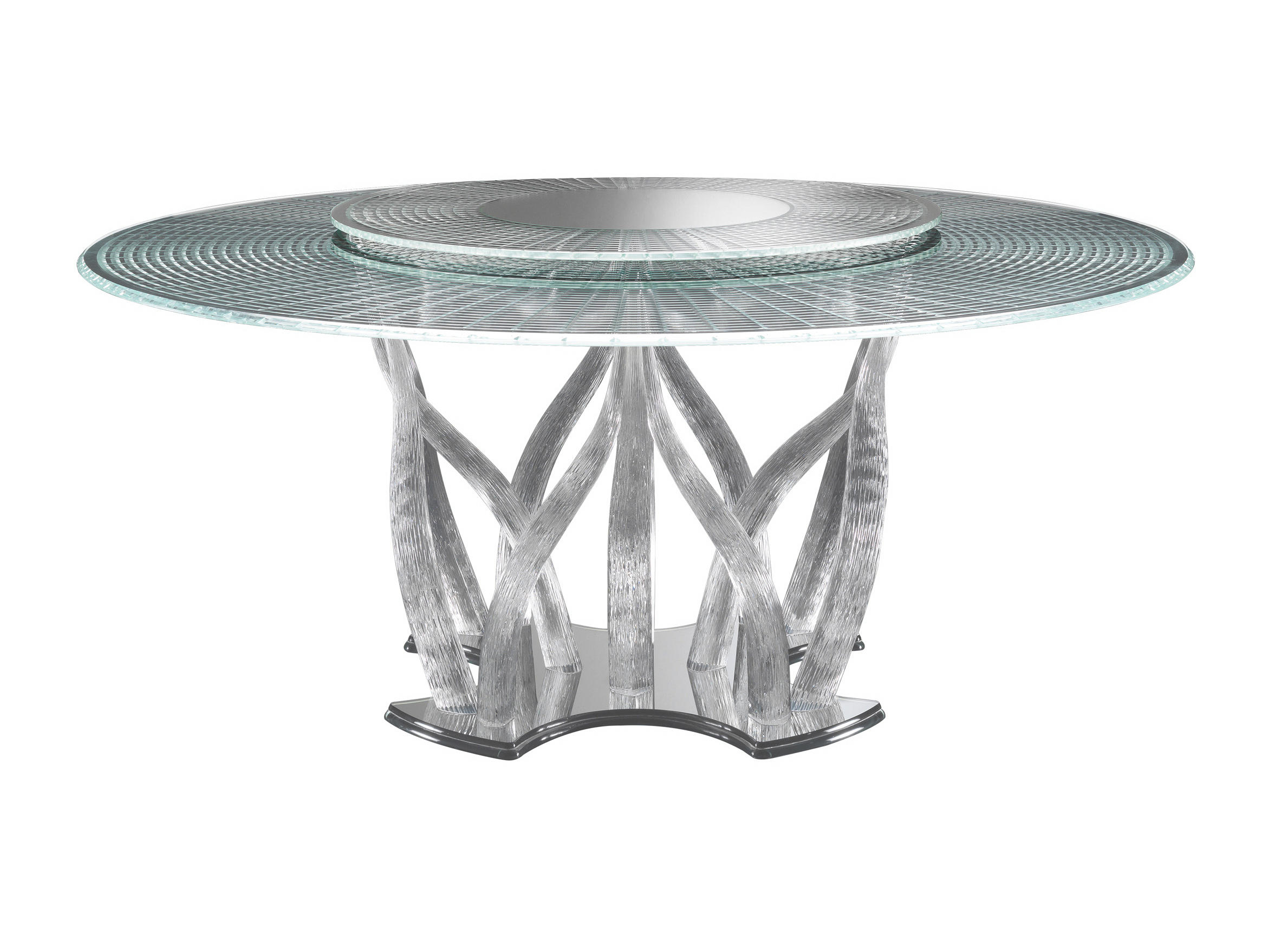 Flambe Dining Table