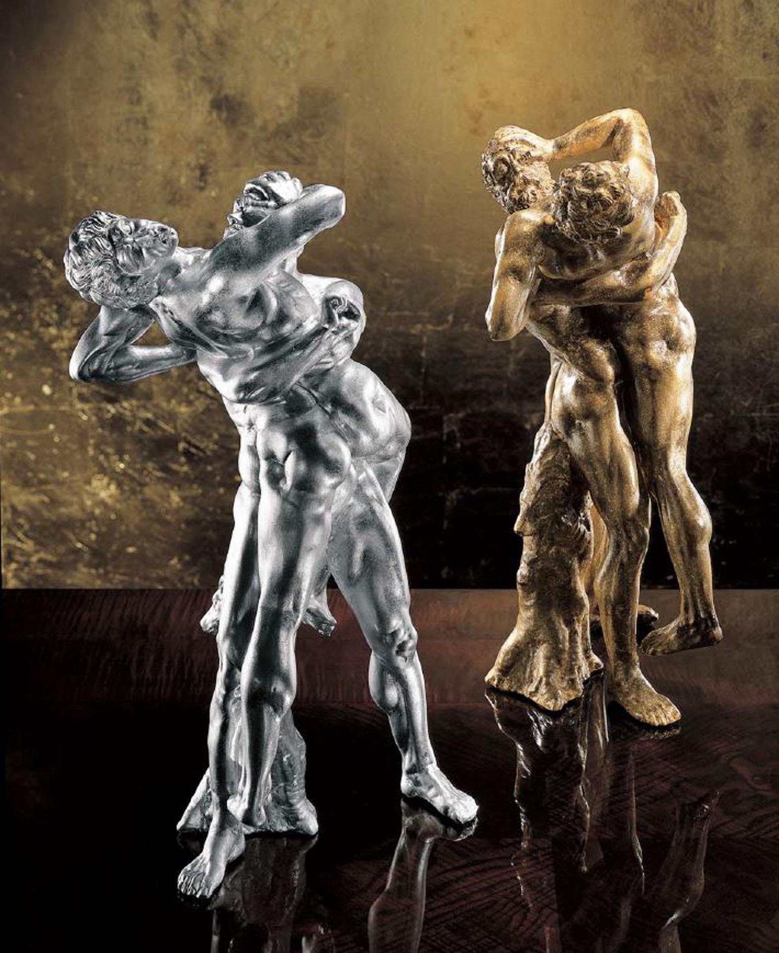 Olympus Fighters Sculpture
