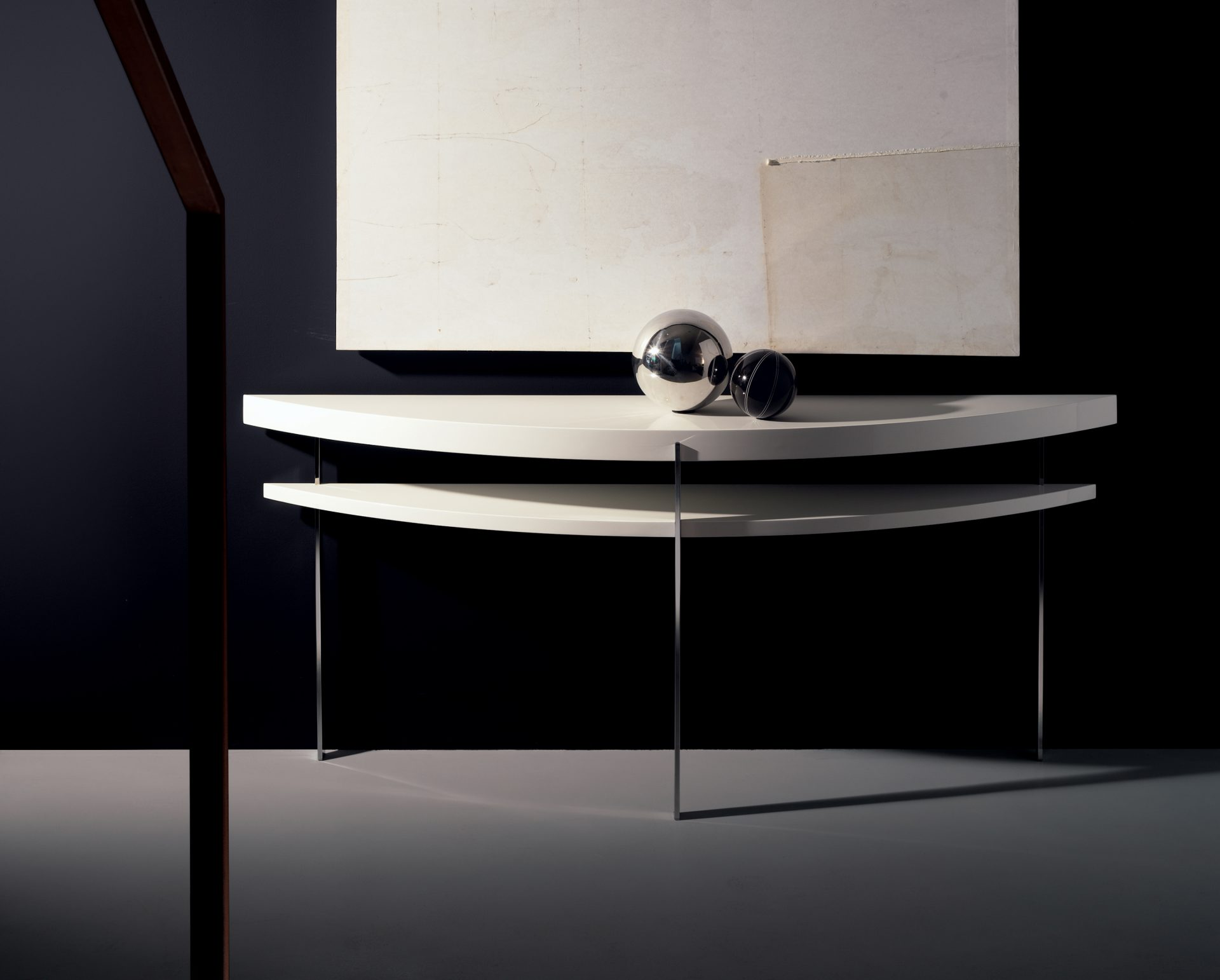 One & Only Half Moon Console Table