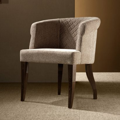 Red Carpet Round Occasional Arm Chair