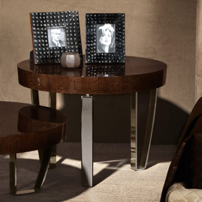 Red Carpet Round Side Table