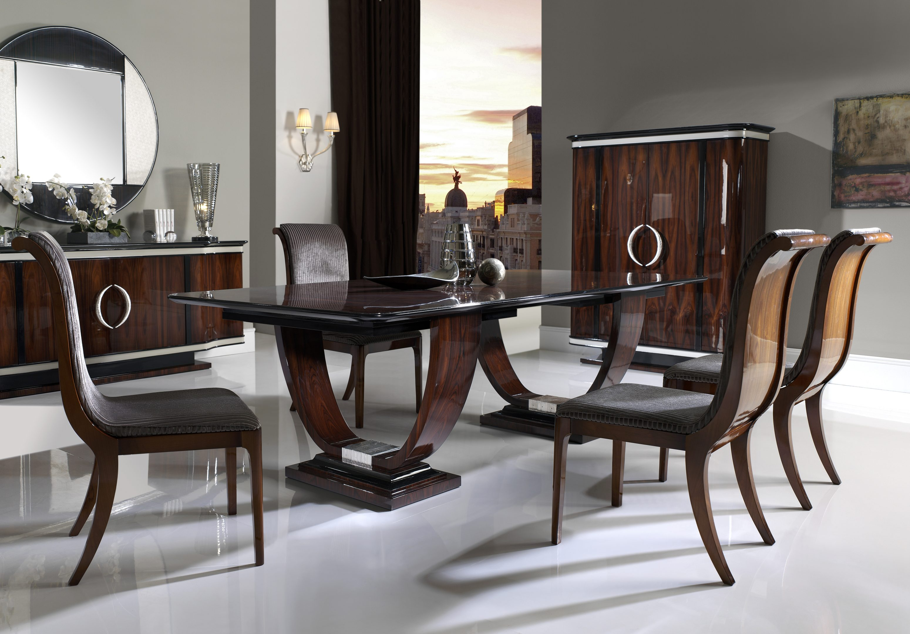 Wilshire Dining Table, Wilshire Dining Room Furniture