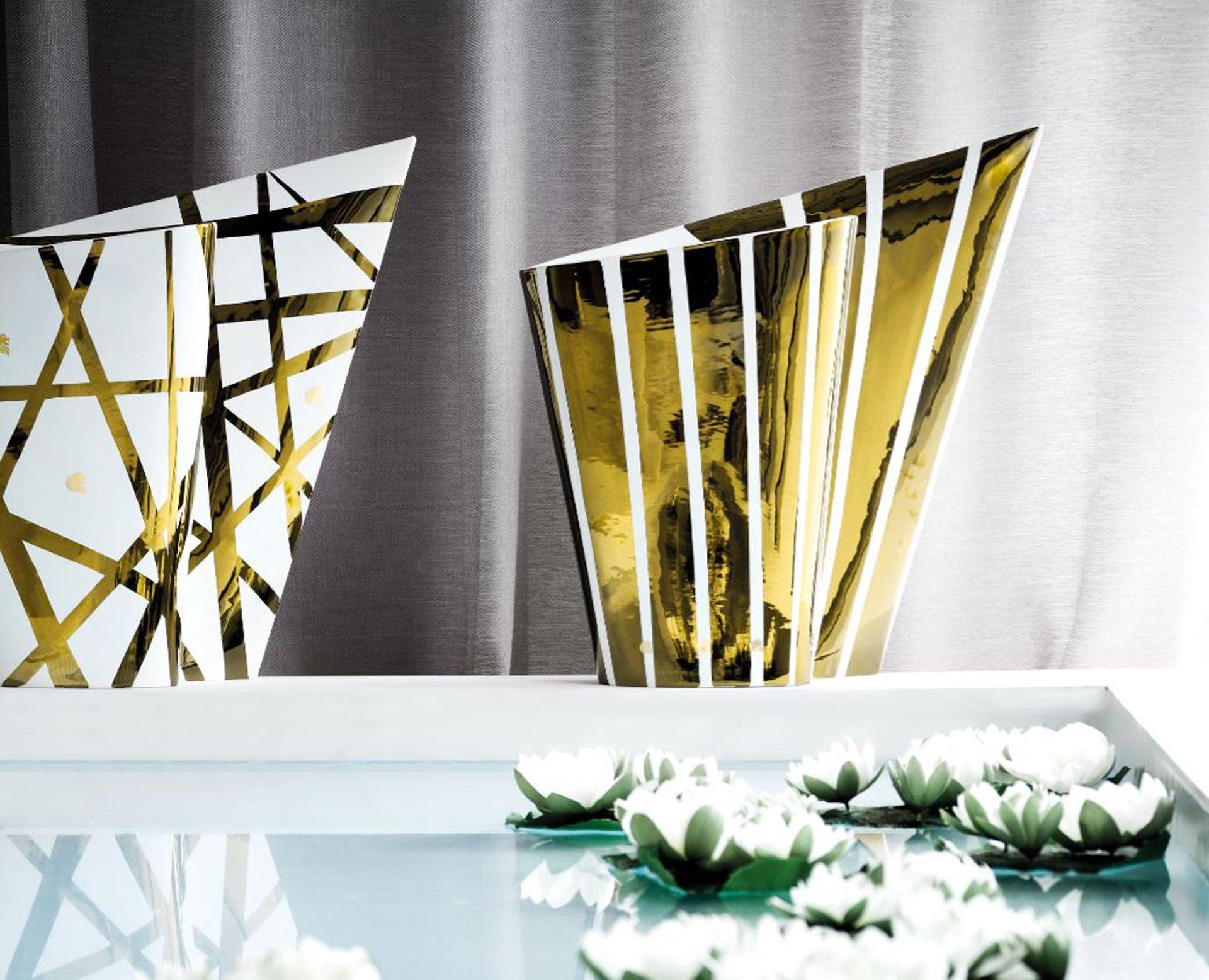 Vision Golden Point Vases