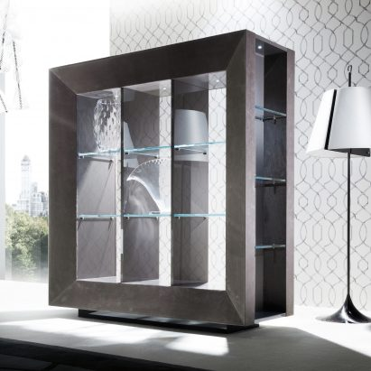 Vision Bifacial Display Cabinet