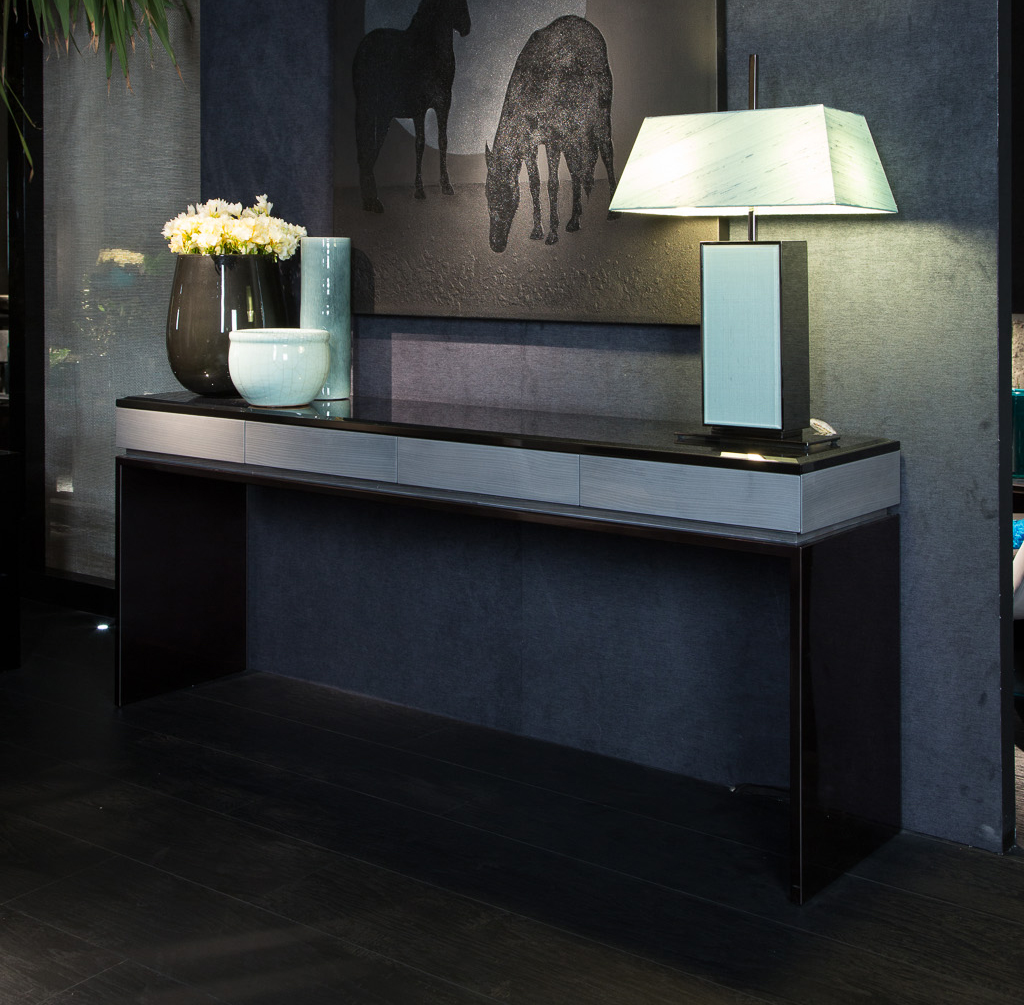 Black and More Console Table
