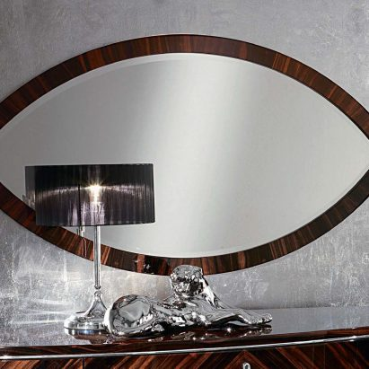 Luna Oval Wall Mirror