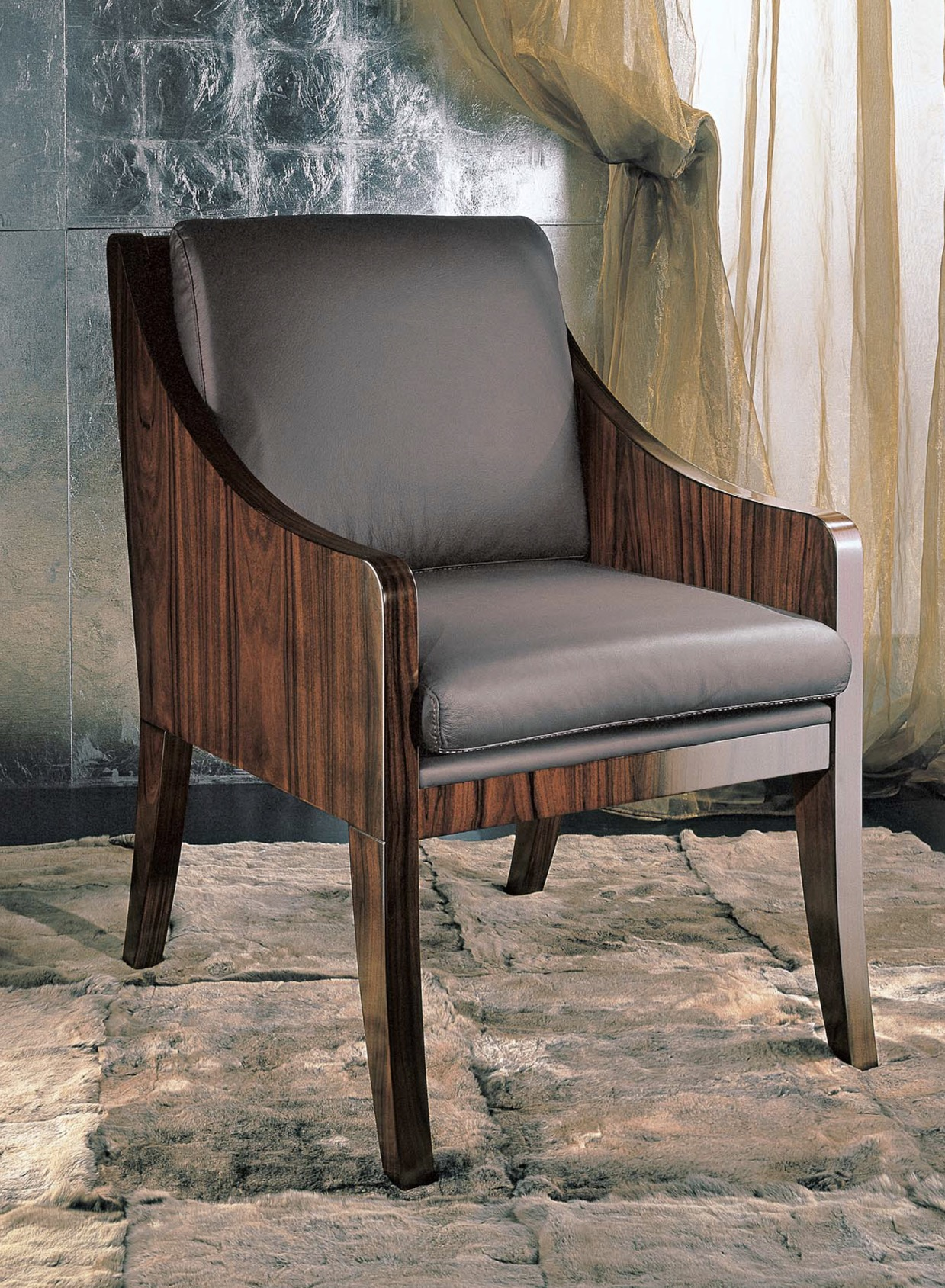 Paradiso Timber Visitor Chair