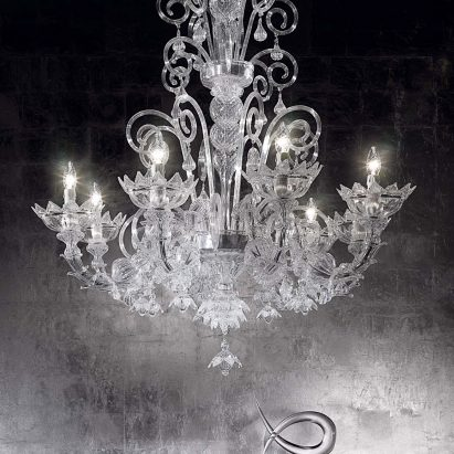 Art Deco Murano Chandelier