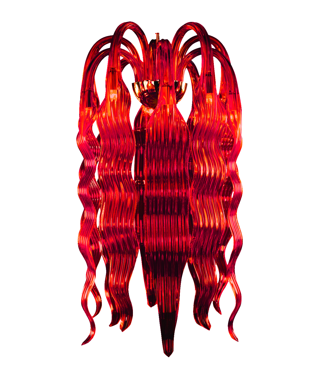 Flame Chandelier
