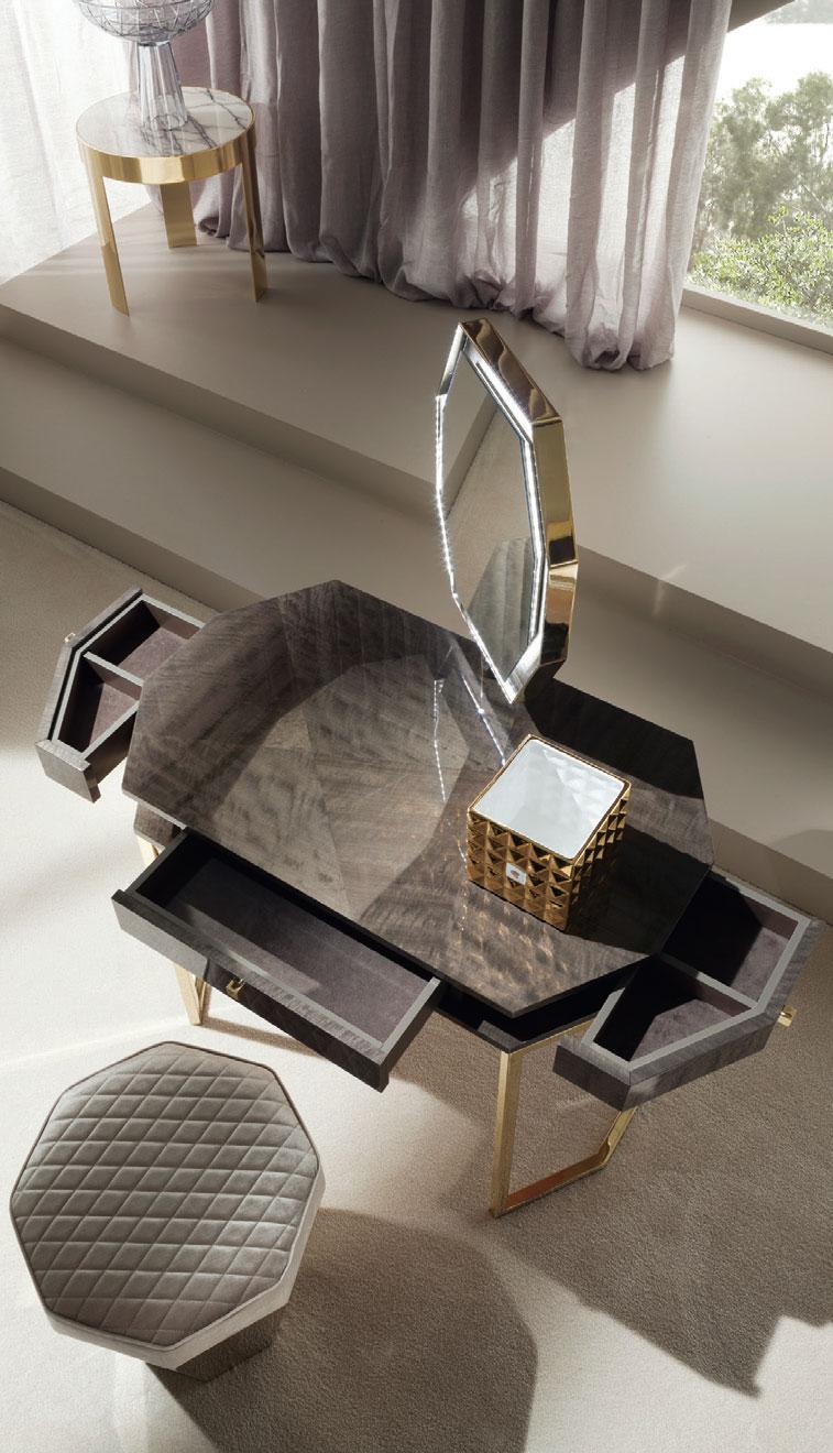 Infinity Vanity Desk