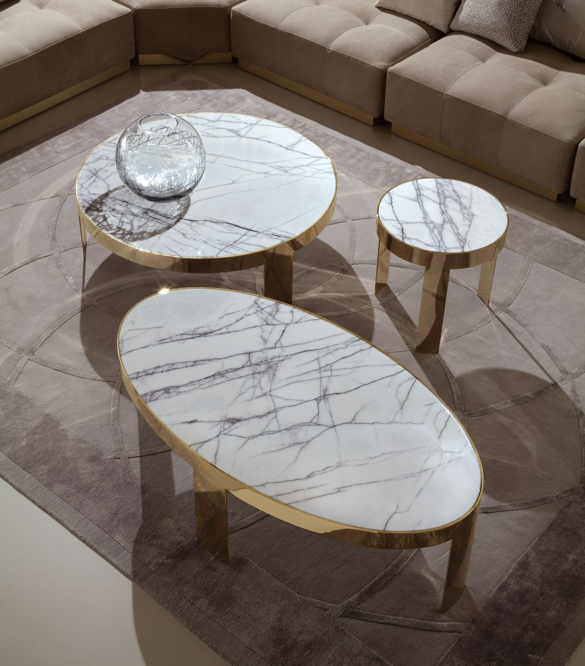 Infinity Metal Coffee Tables