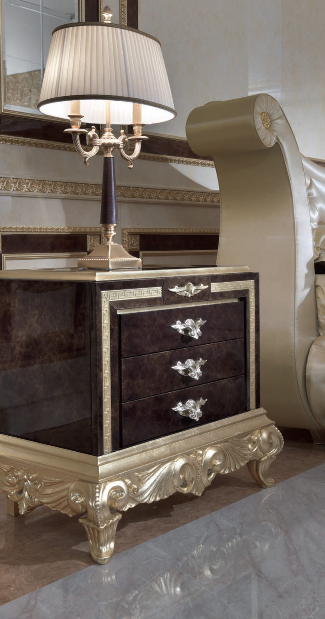 Hermitage Bedside Table
