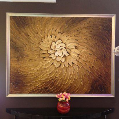 Brown Flora Artwork