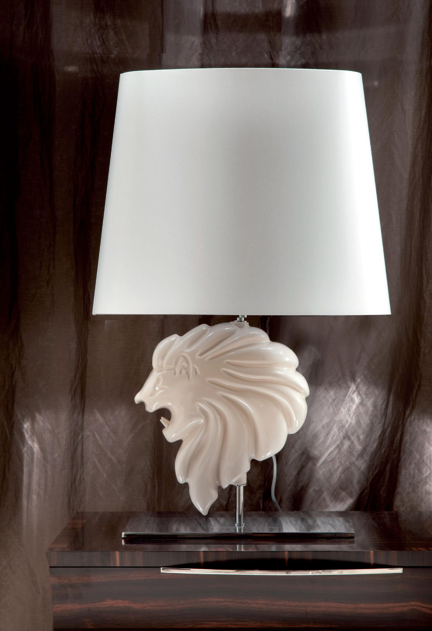 Lion Table Lamp