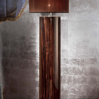 Luna Ebony Floor Lamp