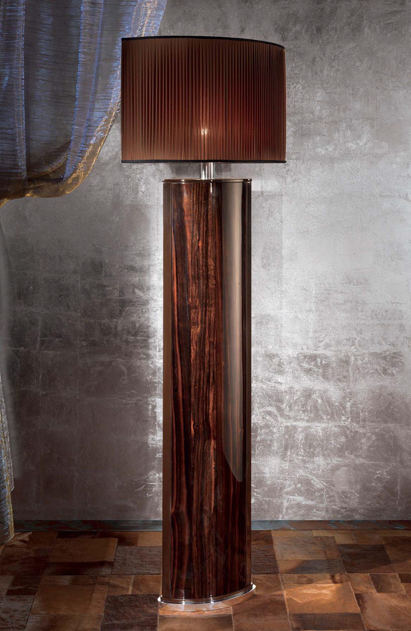 Luna Ebony Floor Lamp
