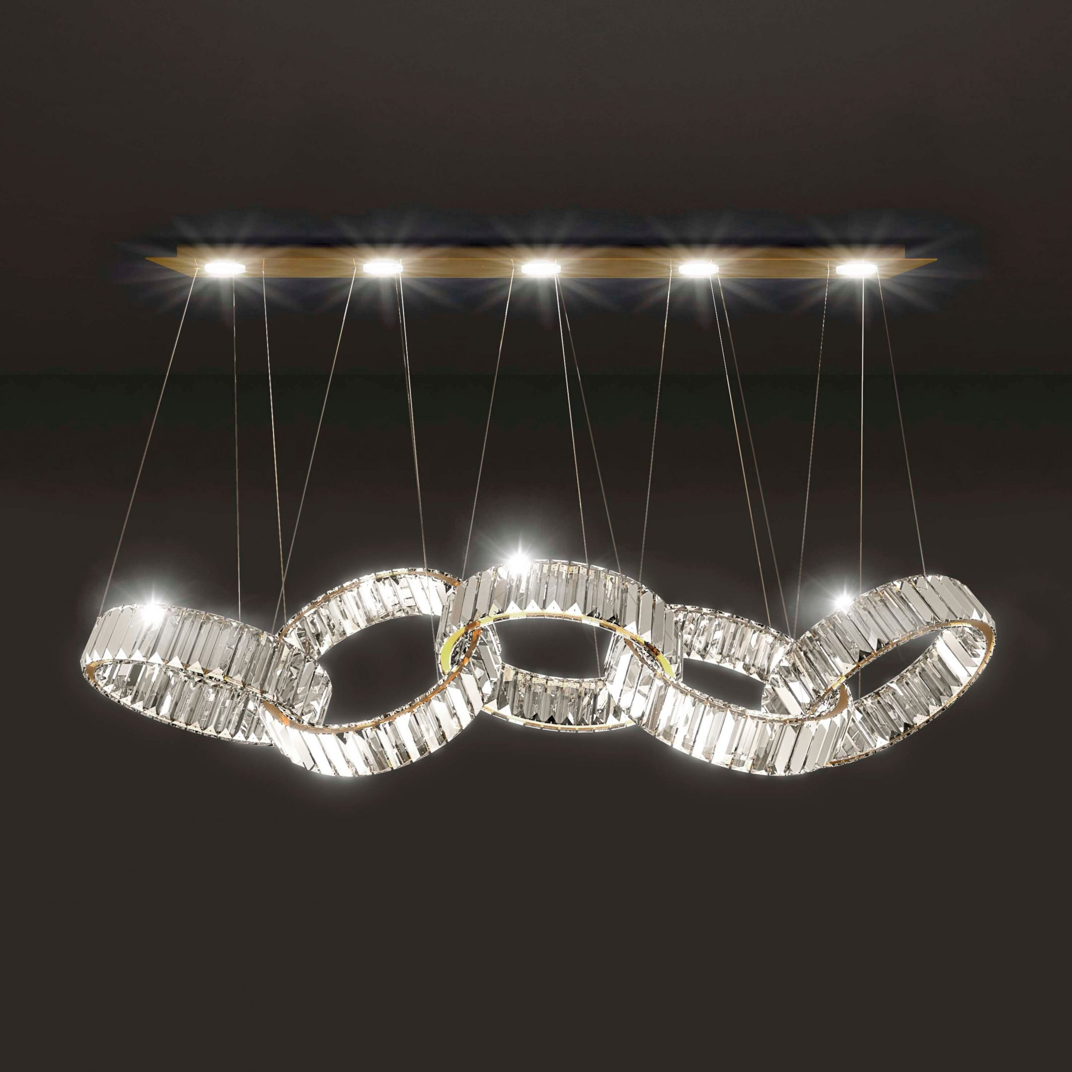 Olympic Chandelier