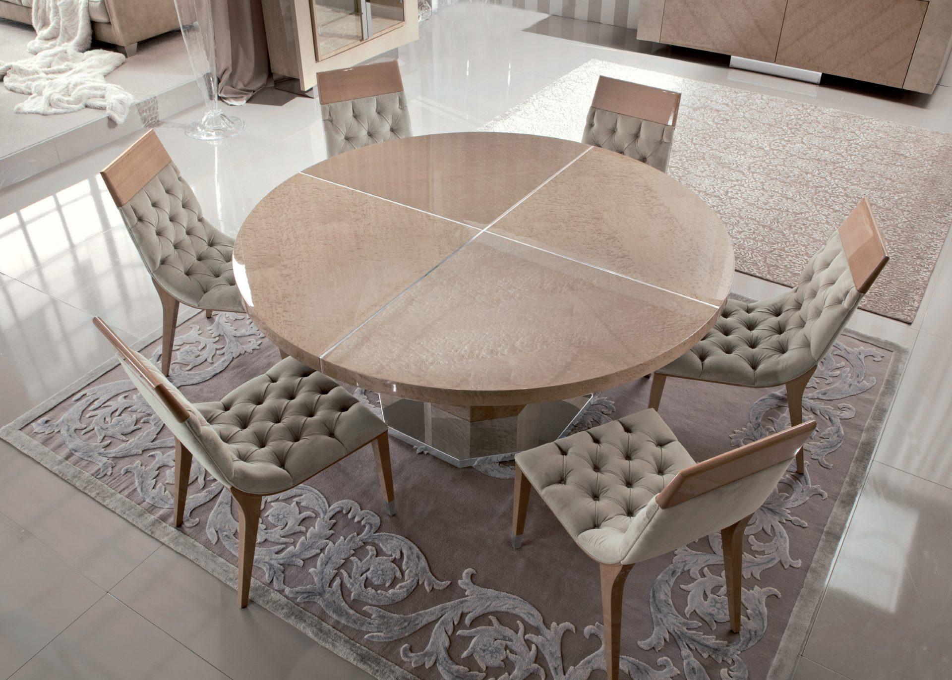 Sunrise Round Dining Table