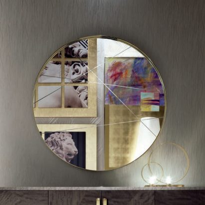 Infinity Round Wall Mirror
