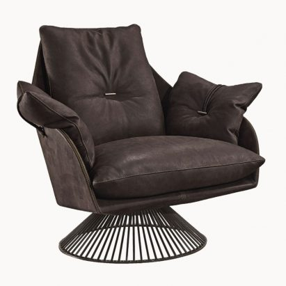 Glossy Occasional Chair