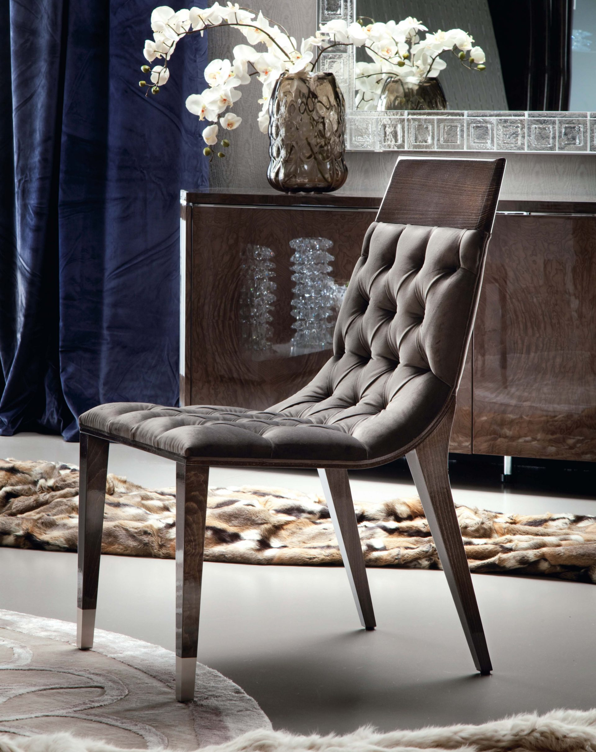 Absolute Buttoned Dining Chairs