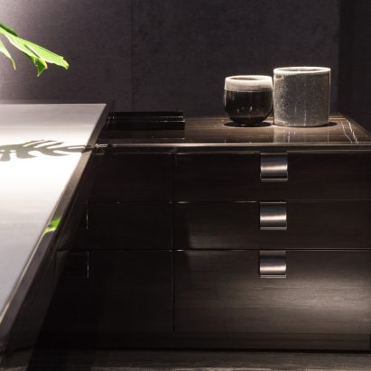 Black and More File Cabinet